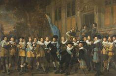 Retrato de la compañía de Jan van Vlooswijck (Nicolaes Eliasz, 1642)