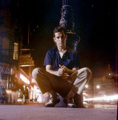 "ereygers: "" Jack Kerouac in New York in 1958. """