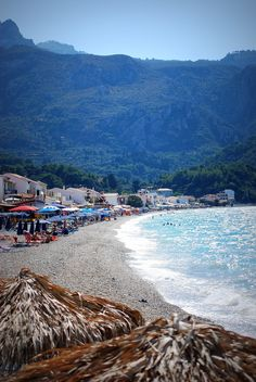 The best waves I've wittnesed. Samos, Look Here, More Photos, Places Ive Been, Greece, Island, Beach, Water, Outdoor