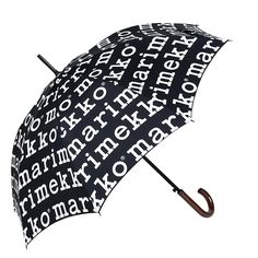 The Umbrella by Marimekko is a classic, half-automatic umbrella with wooden handle. This umbrella opens automatically and the closure is manual.