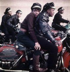 Black Harlem Motorcycle Club, 1959
