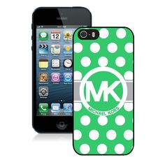 Great discount Michael Kors Logo Dotted Green iPhone 5 Cases. We provide you more choices at our site. #SpringFling | See more about iphone 5s, michael kors and logos.