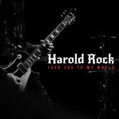 Rock Album Cover Template.