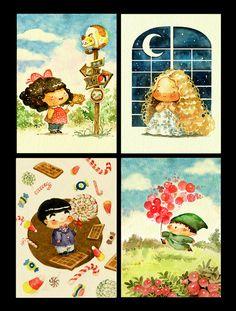 """Little Star"" Magazine by Le Thu, via Behance"