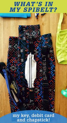 Copy: I love my SPIbelt, it isn't bulky and holds everything I need while on a long run!