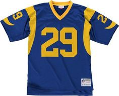 Mitchell  Ness Eric Dickerson 1984 Replica Jersey in Blue S 4XL * You can get more details by clicking on the image.
