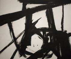 Franz Kline (1910-1962) is famous for his black and white abstractions. Description from donnawatsonart.blogspot.co.uk. I searched for this on bing.com/images