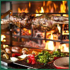 Cotogna's spit roasted leg of lamb