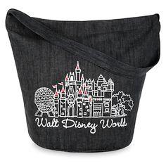 walt disney world canvas bag