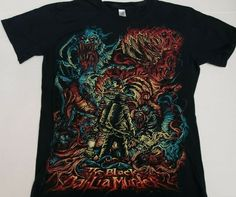 4ad3af1bb The Black Dahlia Murder Thing Shirt By Dan Mumford Size Small S #Gildan  #GraphicTee