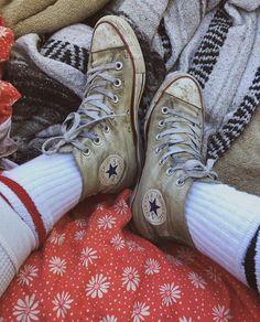 Converse Chuck Taylor High, Converse All Star, Converse High, High Top Sneakers, Shoe Art, Chuck Taylors High Top, Stars, Fall, Converse Sneakers
