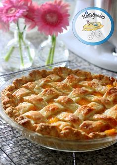 Seftalili Pay - Fresh Peach Pie from mutfagimdan.com