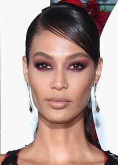 The 10 Best Beauty Looks From the Tony Awards: Another colorful smoky eye, another red carpet win for model Joan Smalls.   allure.com