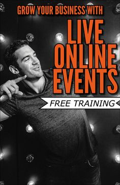 Free Online Training! Grow your business with live online events! #Business #Entrepreneur #Webinars #Marketing http://www.onlinemeetingnow.com/register/?id=uivngm6o2r&