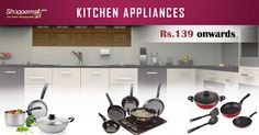Sale on Kitchen Appliances  #KitchenAppliance #OnlineShopping  http://www.shoppemall.com/