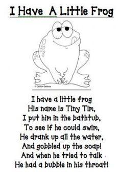 rx online I have a little frog poem/printable (other great printables too!) I have a little frog poem/printable (other great printables too! Preschool Poems, Kindergarten Songs, Preschool Music, Preschool Activities, Frogs Preschool, Rhyming Poems For Kids, Funny Kids Poems, Funny Rhymes For Kids, Funny Rhyming Poems