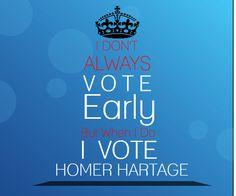 | #Vote Homer Hartage | Orange County Commissioner D6 |
