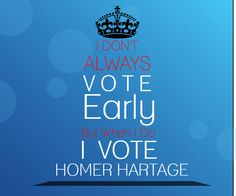 | #Vote Homer Hartage | Orange County Commissioner D6 |