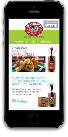 Francisco bread #responsive #website delivers recipe for success. #nomnom http://rhythmagency.com/case-study/francisco