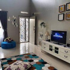 Simple House Interior Design, Dream House Interior, Home Room Design, Modern House Design, Bedroom Wall Designs, Living Room Designs, Living Room Decor, Colourful Living Room, Elegant Living Room