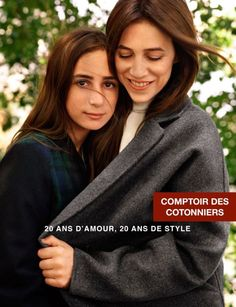 Charlotte Gainsbourg and her daughter for Comptoir des Cotonniers