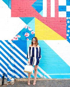 The long  short of it  {see more of this striped romper look on the blog} http://ift.tt/1WAM8Lm @liketoknow.it #liketkit by jenniferlake