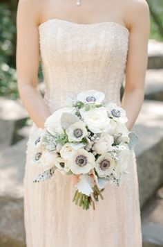 Absolutely stunning white wedding bouquet. #bouquet #wedding #photography Captured by: ANIKO Productions ---> http://www.anikoproductions.com/