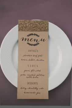 can you look at the printing, can you do this? I want these and they print the thank you note on the back for the menu!