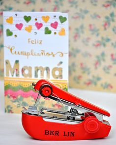 I'm not sure why but I feel like I need one of these. A mini sewing machine.
