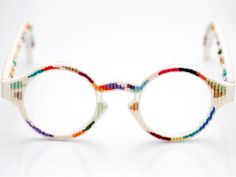 Stylin' 3D PRINTED TAPESTRY GLASSES