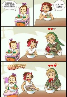 "The Legend of Zelda: ""There's a Rupee in my Soup"""