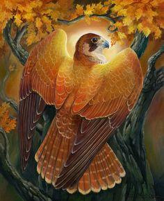 Voice of Autumn Light by windfalcon.deviantart.com on @deviantART