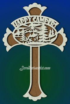 Inspirational Scroll Saw Patterns | Camper's cross