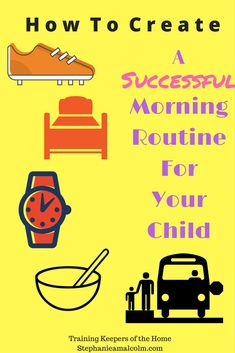 Five Tips on How to Create a Morning Routine for Your child