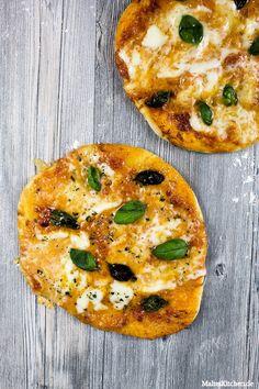Die echte neapolitanische Pizza mit dem besten Pizzateig ever. :D #pizza…