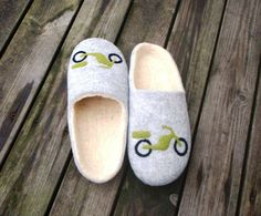 felted slippers Mopīc