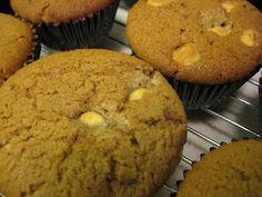 Coffee & White Chocolate Muffins