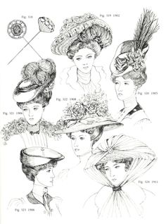 25 May 2018 Frisuren 159 Views admin 25 May 2018 Hairstyles 159 Views Hairstyles Around 1900 – Hairstyles Edwardian Era, Edwardian Fashion, Vintage Fashion, Victorian Hairstyles, Vintage Hairstyles, Belle Epoque, Historical Hairstyles, Types Of Hats, Fashion Illustration Vintage