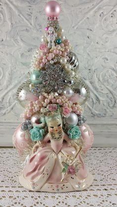 Marie Antoinette bottle brush tree...Ms Bingles