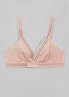 & Other Stories | Stripe Detail Soft Bra