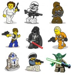 Wall Decals. Star Wars RoomLego ... Part 49