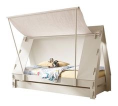 Let your children's imaginations go wild with our Tent Bed, perfect for budding adventures. This bed is also suitable for children that share a room as under th