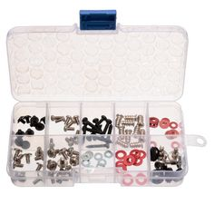 94 pcs Screws Kit for Motherboard PC Case Fan CD-ROM Hard Disk Notebook With Free Plastic Box