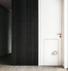 Child's Door-Within-A-Door by Studio Karnhard