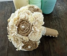 unique wedding bouquets without flowers - Google keresés