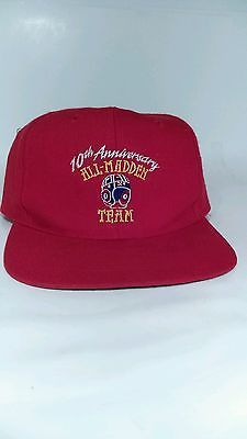 Vintage 1994 10th Anniversary ALL JOHN MADDEN NFL FOOTBALL TEAM Snapback Hat Cap