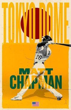 Nfl Football, Mlb, Baseball, Matt Chapman, Oakland Athletics, Trading Cards, Athlete, Logos, Logo
