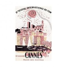 6th International Film Festival in Cannes in 1951