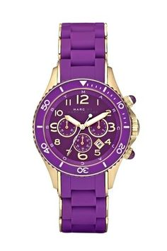 Rock Chrono Watch - MBM2549 - Marc By Marc Jacobs - Watches - Marc Jacobs - StyleSays
