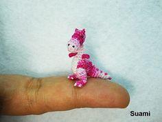 Ganz winzig kleine Häkeltiere von Su Ami | KlonBlog